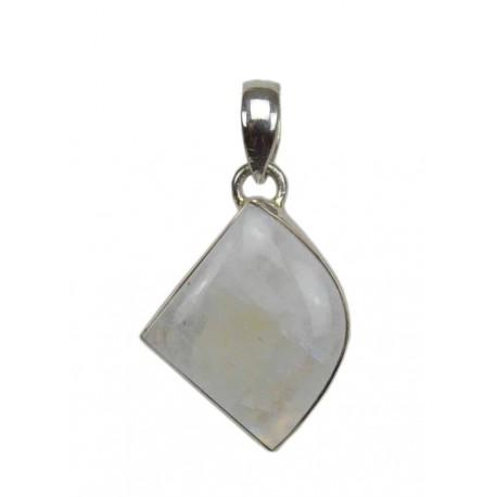 Colgante de plata con Piedra Luna 02