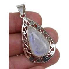 Colgante de plata con Piedra Luna 05