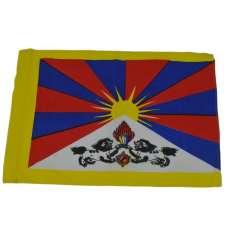 Mini Bandera del Tibet 01