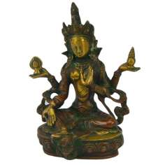 Tara en bronce 20,5 cm - 1.810 kg