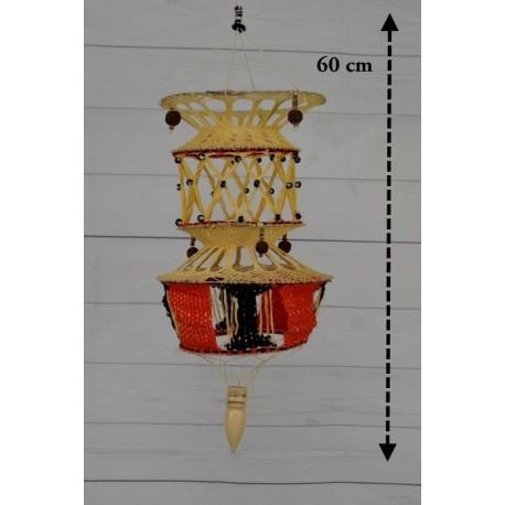 Lámpara de macramé LM09