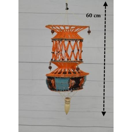 Lámpara de macramé LM10