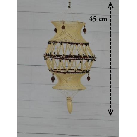Lámpara de macramé LM11