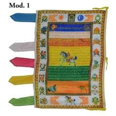 Bandera Budista de seda vertical