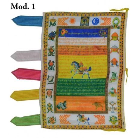 Bandera de seda vertical