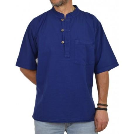 Kurta Hombre azul