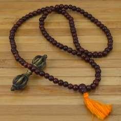 Mala Tibetano de madera TIB18