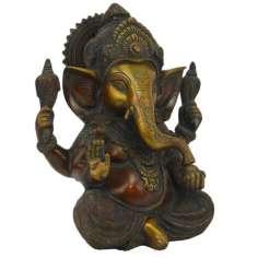 Ganesh en Bronce 22 cm - 3.895 kg