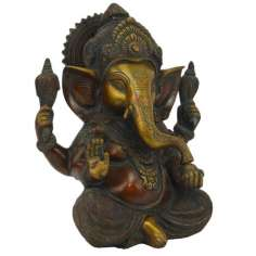 Ganesh en Bronce 22 cm