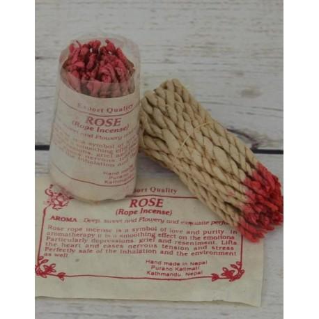 Incienso Rosa cordón