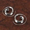 Pendientes de espiral Goa