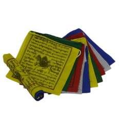 Bandera Tibetana 11,5 x 11,5 cm