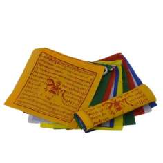 Banderas Tibetanas de algodón 12 x 12 cm