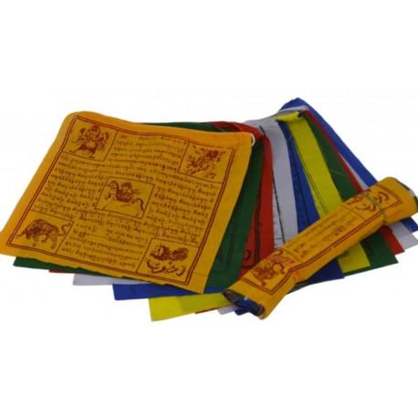 Banderas Tibetanas de algodón 17 x 16 cm