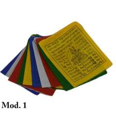 Mini Banderas tibetanas 10 x 8 cm