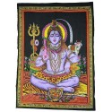 Tapiz Shiva sentado grande