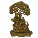 Krishna y Radha en bronce 16,8 cm- 0.950 kg