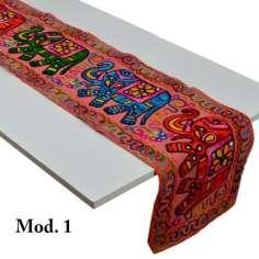 Caminos de mesa bordados con elefantes