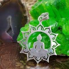 Colgante flor de loto Buda