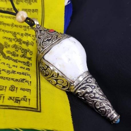 Colgante caracola Tibetana