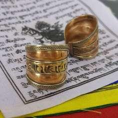 Anillo mantra budista Tibet 8