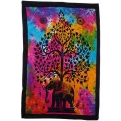 Tapiz Árbol de la Vida multicolor