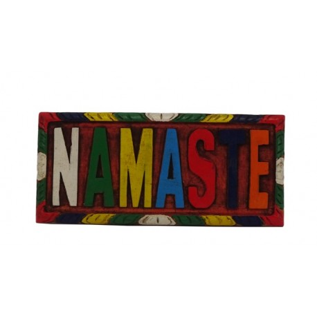 Tabla de madera Namasté pequeña