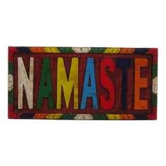 Tabla de madera Namasté