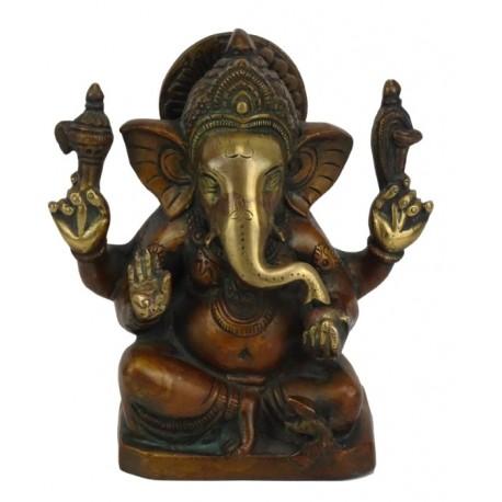 figura Ganesh de bronce