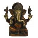 Ganesh de bronce 14,5 cm - 1.630 kg