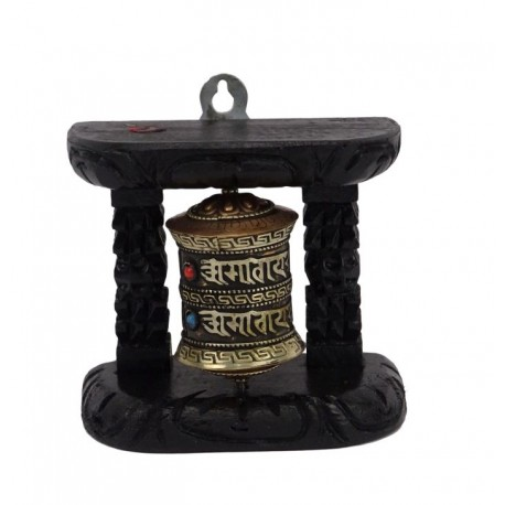 Molinillo de oración Budista para la pared
