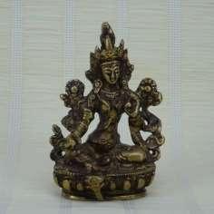 Tara en bronce 9 cm - 0.240 kg