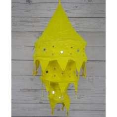Lámparas de tela Artesanal Amarilla