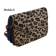 Bolso piel estampado Animal Print