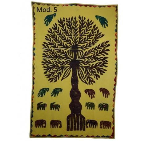 Tapiz árbols de la vida hechos en India