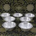 Set de 7 Cuencos de ofrecimiento de Aluminio