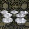 Set de 7 Boles de ofrecimiento de Aluminio