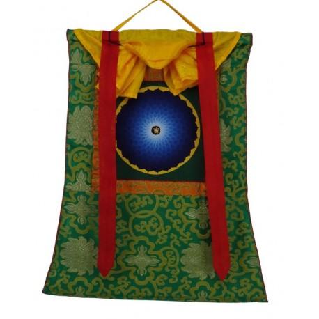 Thangka budista Mandala con Brocado TK21