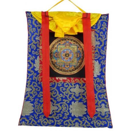 Thangka budista mandala con Brocado TK23