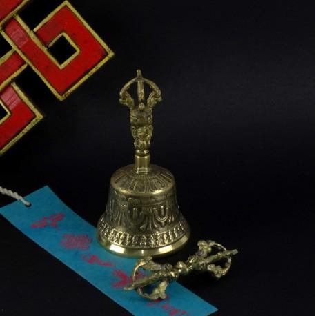 Campana Tibetana 13cm + Dorge