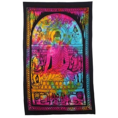 Tapiz Buda multicolor 75 cm x 112 cm