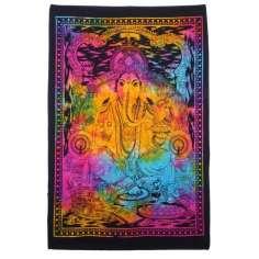 Tapiz Ganesh multicolor 75 cm x 112 cm