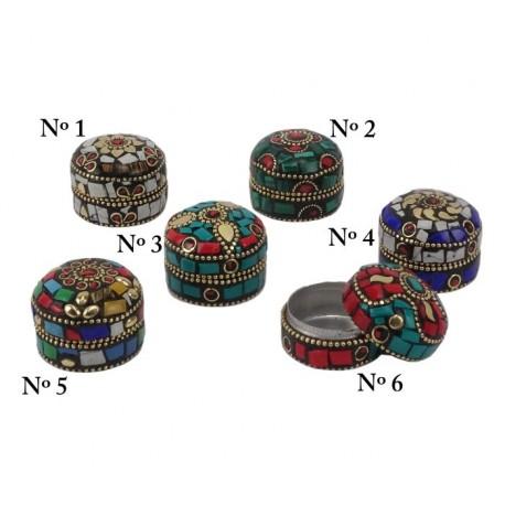 Mini cajitas indias de piedras