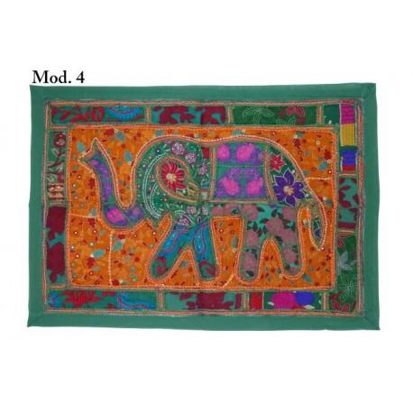 Tapiz patchword Elefante 95 cm x 65 cm