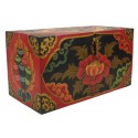 Caja de madera Tibetana 45 x 24 x 21 cm