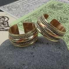 Anillo Tibetano de tres metales