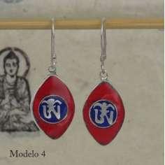 Pendientes símbolos budistas