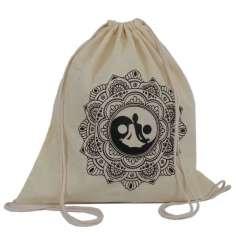 Mochila saco estampado mandala Yoga
