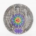 Tabla Flor de la Vida Buda 34 cm Ø