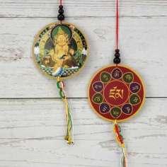 Colgante/amuleto Buda Zambala